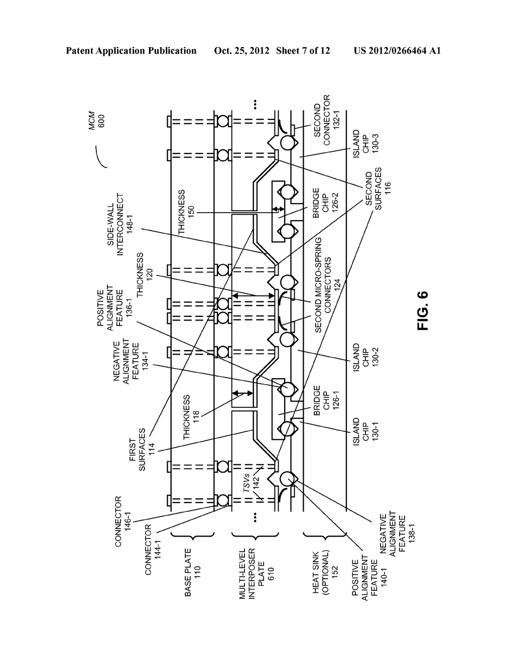 MULTI-CHIP MODULE WITH MULTI-LEVEL INTERPOSER - diagram, schematic, and image 08