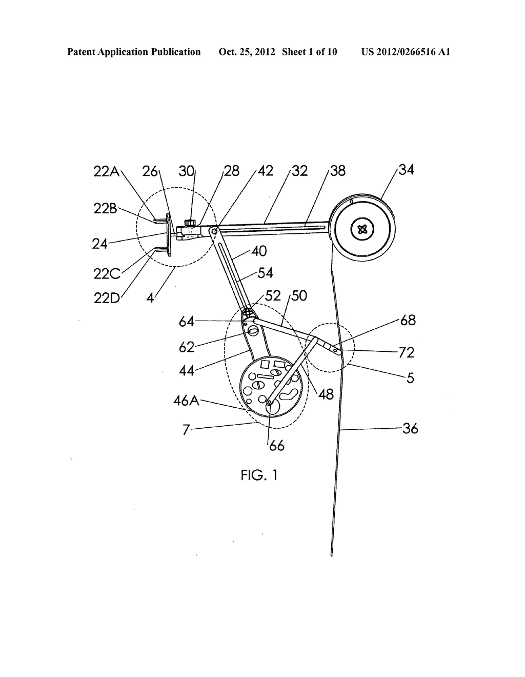 Apparatus and method for automatically jigging a fishing line - diagram, schematic, and image 02