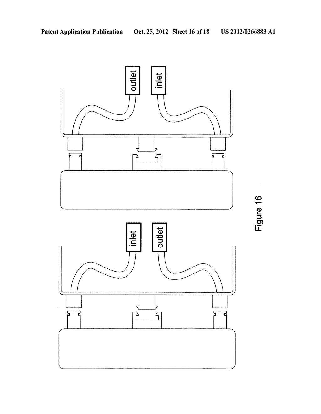 Gas concentrator with removable cartridge adsorbent beds - diagram, schematic, and image 17