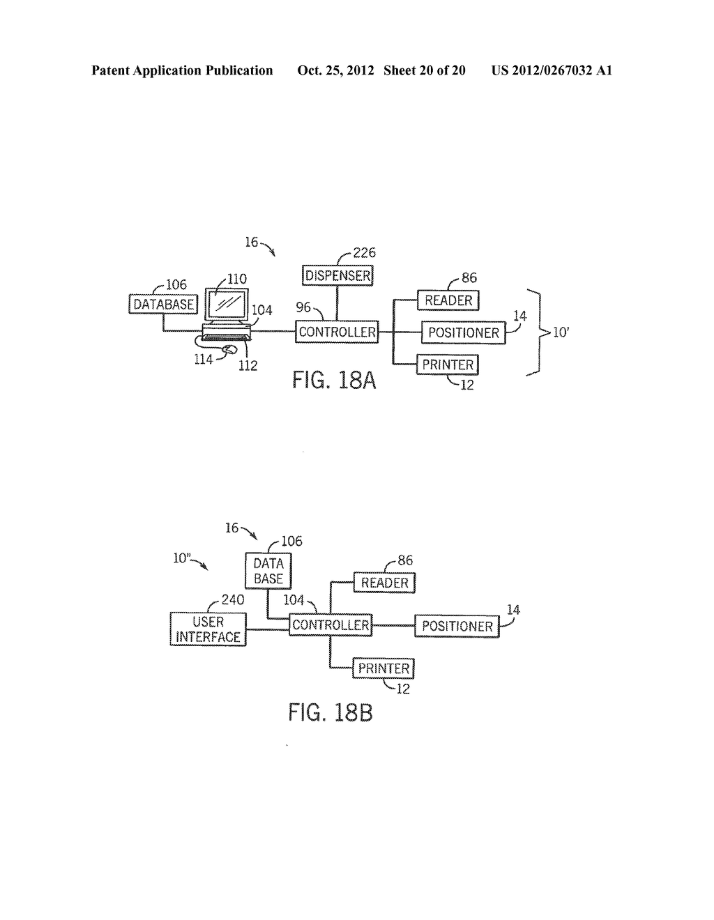 APPARATUS AND METHODS FOR DISPENSING PRE-FILLED CONTAINERS WITH     PRECISELY-APPLIED PATIENT-SPECIFIC INFORMATION - diagram, schematic, and image 21