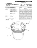CONTAINER FOR AIR FRESHENING MATERIALS AND OTHER VOLATILES diagram and image