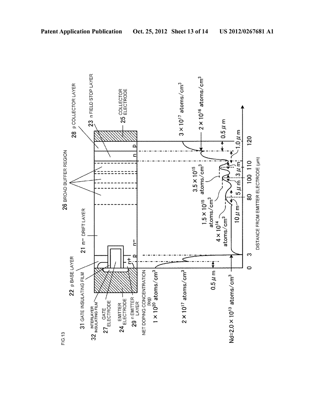 SEMICONDUCTOR DEVICE AND METHOD FOR MANUFACTURING SEMICONDUCTOR DEVICE - diagram, schematic, and image 14