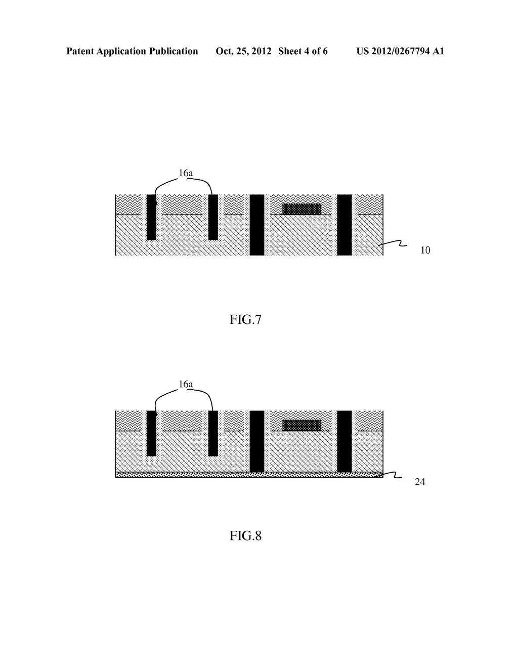 STRUCTURE AND DESIGN STRUCTURE FOR HIGH-Q VALUE INDUCTOR AND METHOD OF     MANUFACTURING THE SAME - diagram, schematic, and image 05