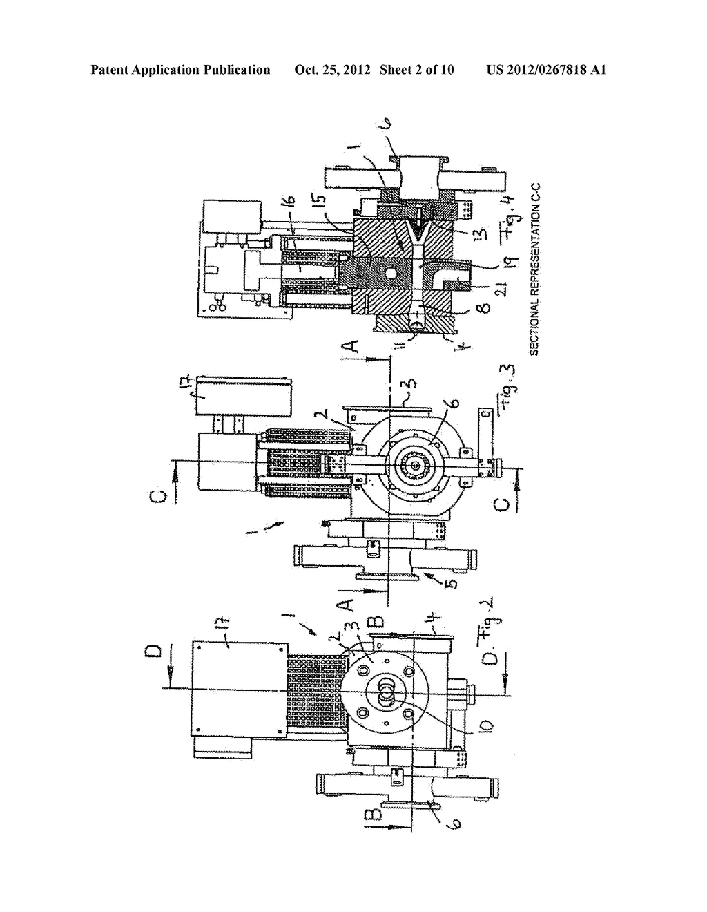 METHOD AND DEVICE FOR GRANULATING PLASTICS AND/OR POLYMERS - diagram, schematic, and image 03