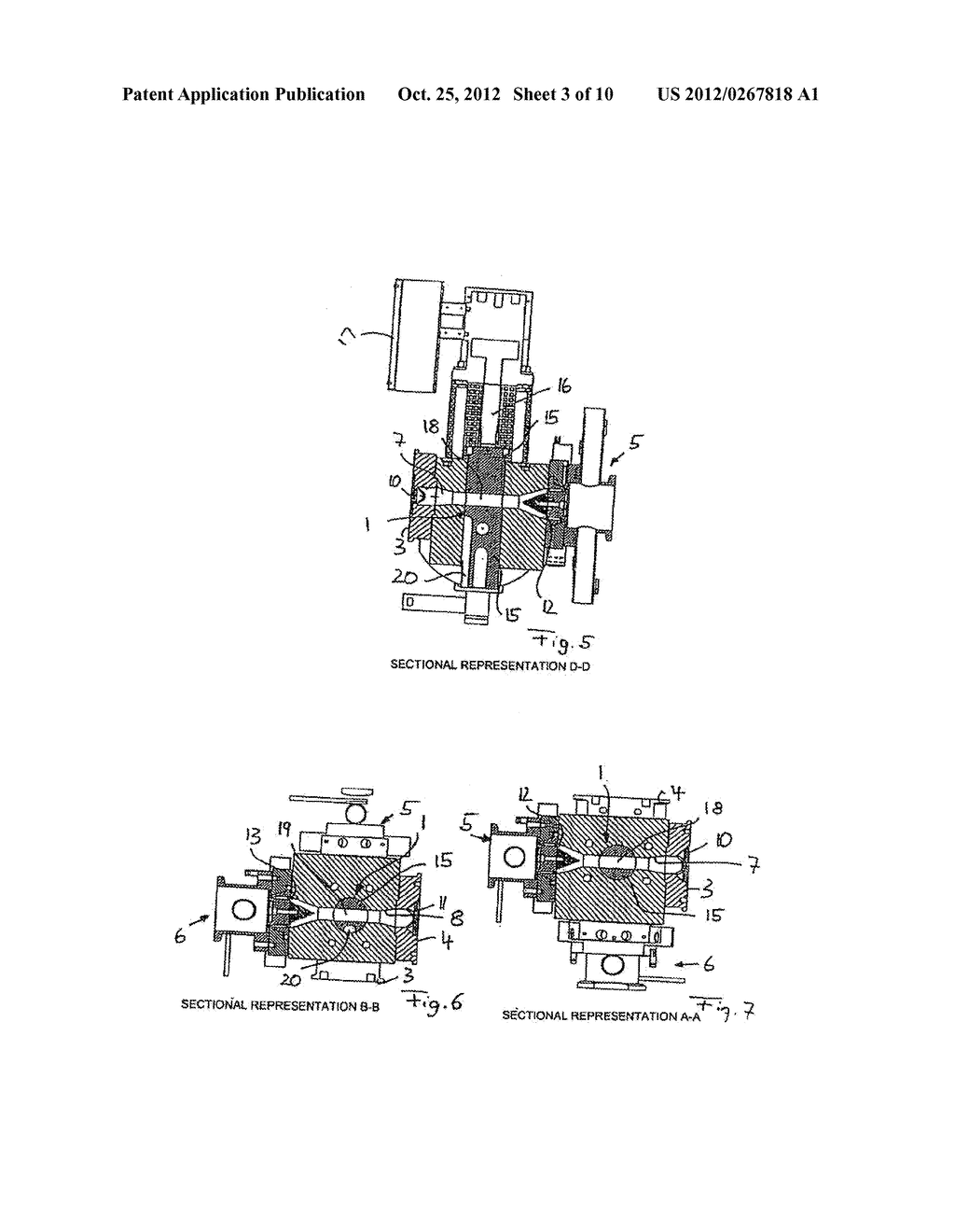 METHOD AND DEVICE FOR GRANULATING PLASTICS AND/OR POLYMERS - diagram, schematic, and image 04