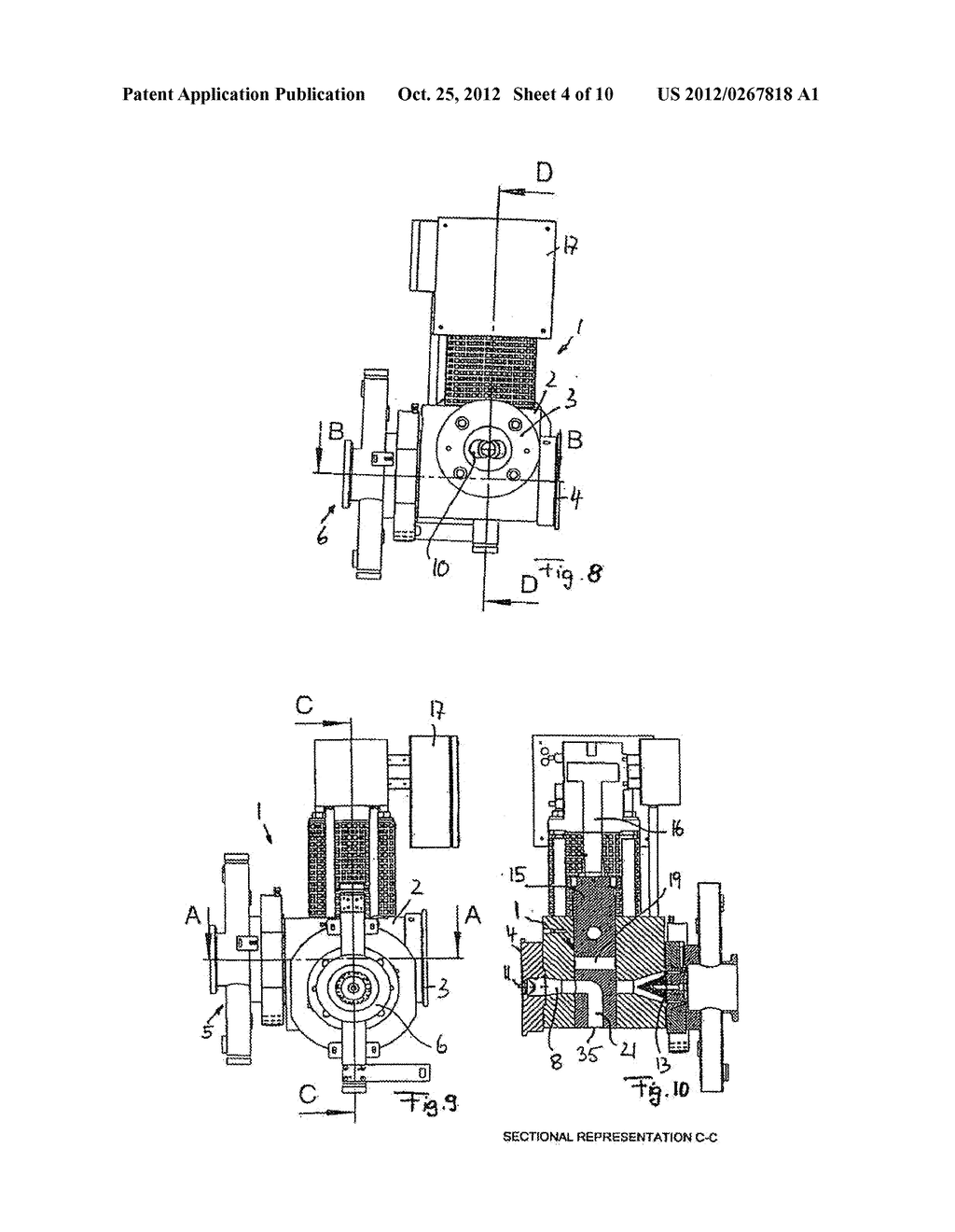 METHOD AND DEVICE FOR GRANULATING PLASTICS AND/OR POLYMERS - diagram, schematic, and image 05
