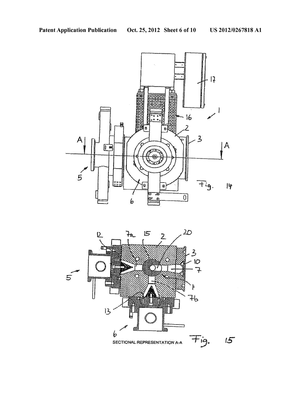 METHOD AND DEVICE FOR GRANULATING PLASTICS AND/OR POLYMERS - diagram, schematic, and image 07