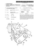 LOCK FOR MOTOR VEHICLE OPENING LEAF FITTED WITH A SPRING diagram and image