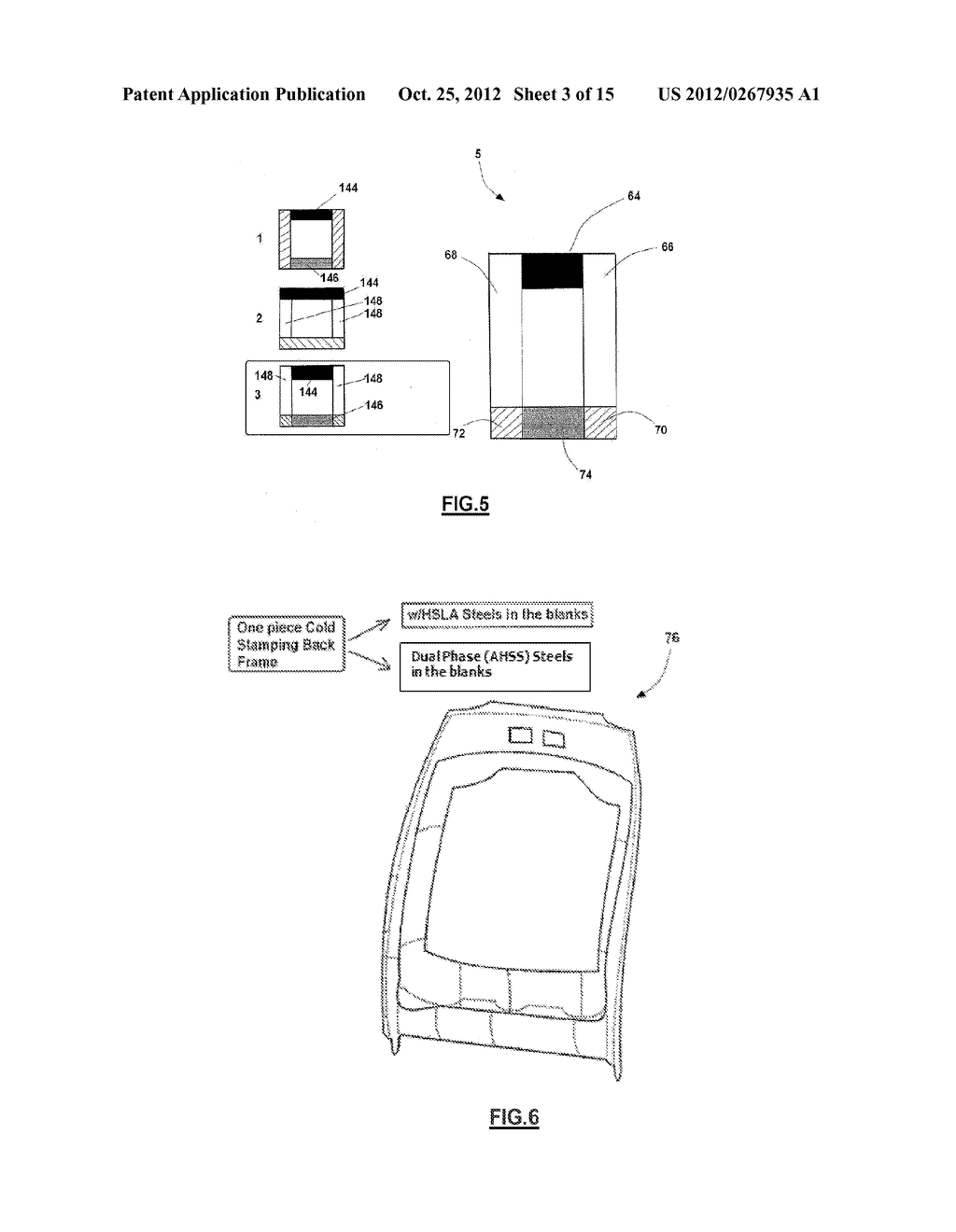 ONE-PIECE SEAT STRUCTURES AND METHOD OF FORMING - diagram, schematic, and image 04
