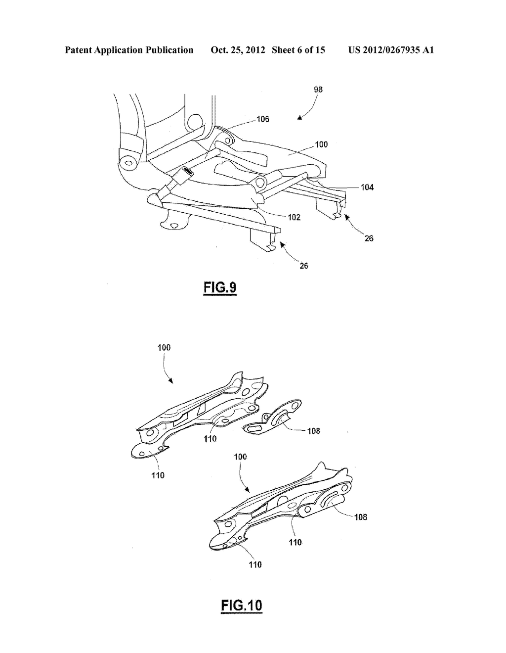 ONE-PIECE SEAT STRUCTURES AND METHOD OF FORMING - diagram, schematic, and image 07