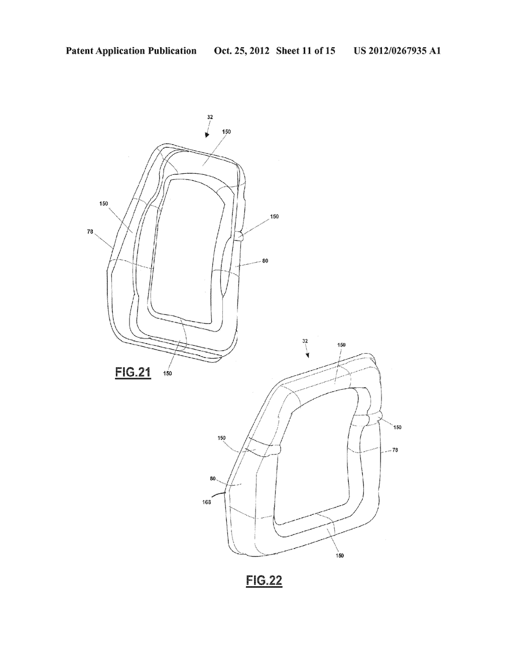 ONE-PIECE SEAT STRUCTURES AND METHOD OF FORMING - diagram, schematic, and image 12