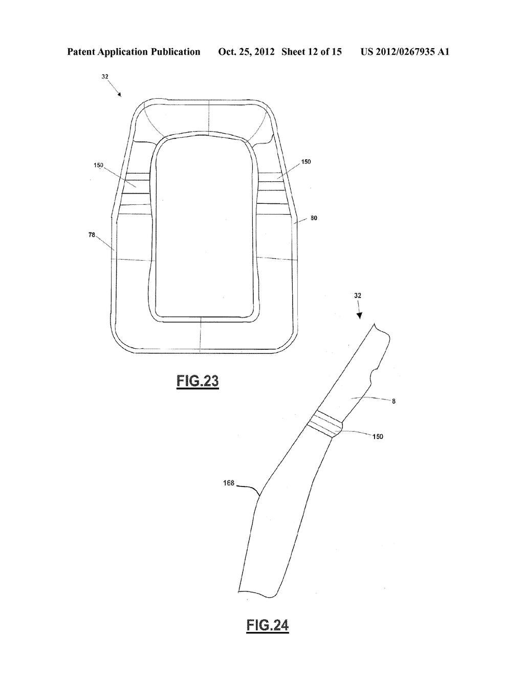 ONE-PIECE SEAT STRUCTURES AND METHOD OF FORMING - diagram, schematic, and image 13