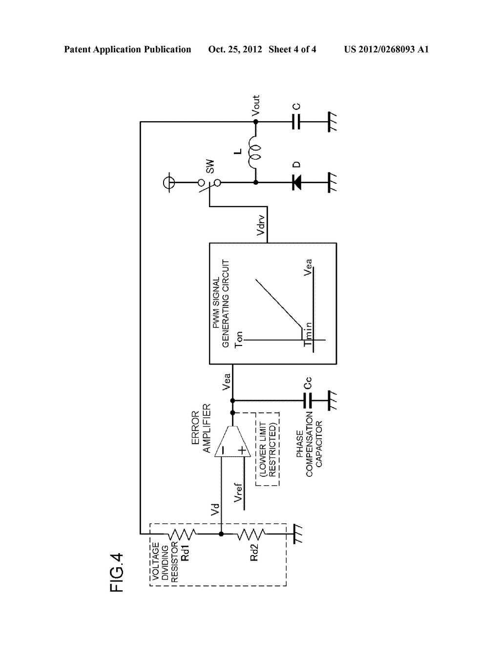 DC-DC CONVERTER CONTROL METHOD AND DC-DC CONVERTER CONTROL CIRCUIT - diagram, schematic, and image 05