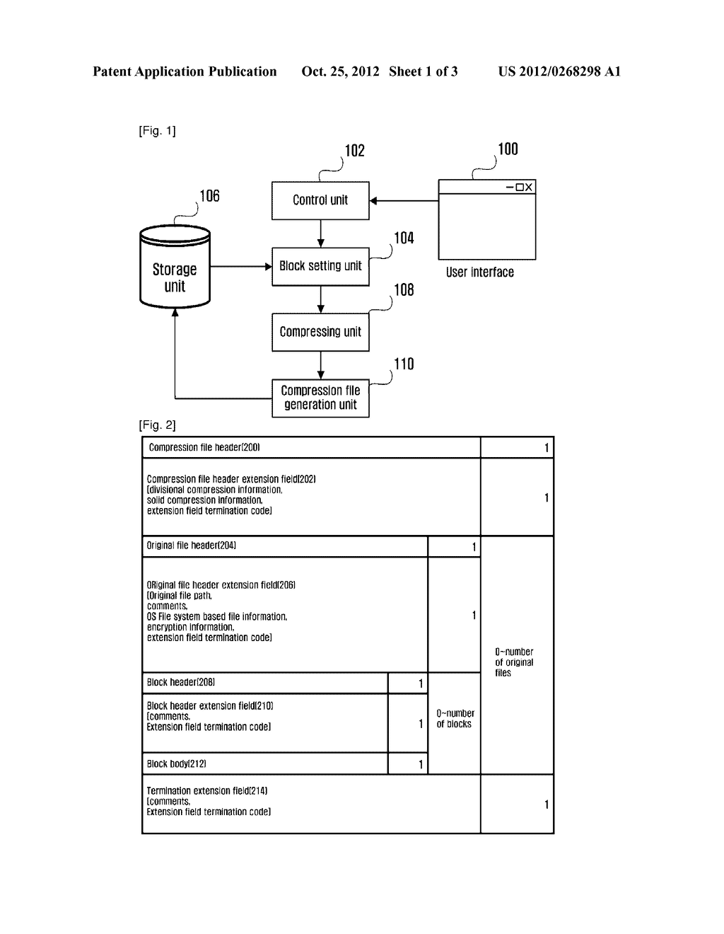 METHOD AND APPARATUS FOR COMPRESSING AND DECOMPRESSING BLOCK UNIT DATA - diagram, schematic, and image 02