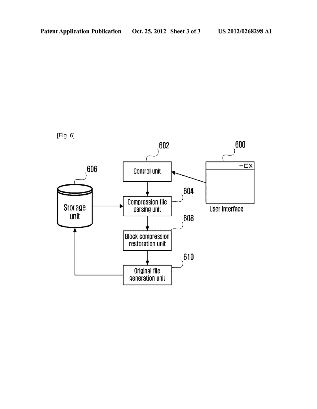 METHOD AND APPARATUS FOR COMPRESSING AND DECOMPRESSING BLOCK UNIT DATA - diagram, schematic, and image 04