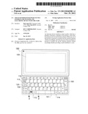 TOUCH SENSOR KEYPAD WITH TACTILE FEEDBACK MECHANISMS AND ELECTRONIC DEVICE     WITH THE SAME diagram and image