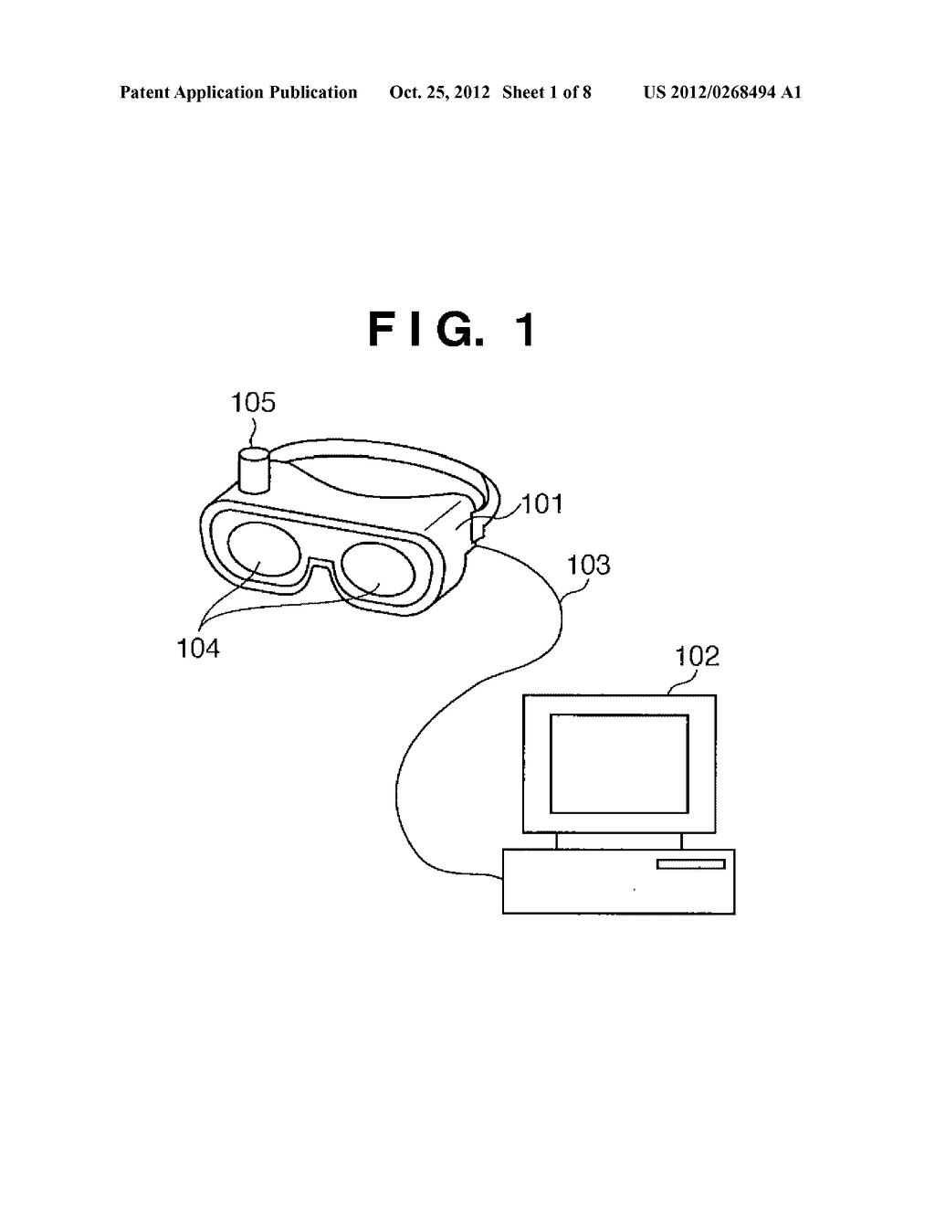HEAD MOUNTED DISPLAY AND CONTROL METHOD THEREFOR - diagram, schematic, and image 02