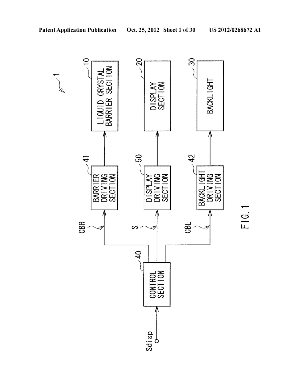 DISPLAY DEVICE AND BARRIER DEVICE - diagram, schematic, and image 02