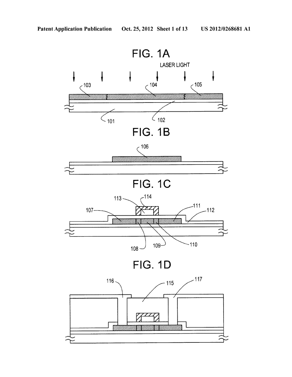 SEMICONDUCTOR CIRCUIT FOR ELECTRO-OPTICAL DEVICE AND METHOD OF     MANUFACTURING THE SAME - diagram, schematic, and image 02