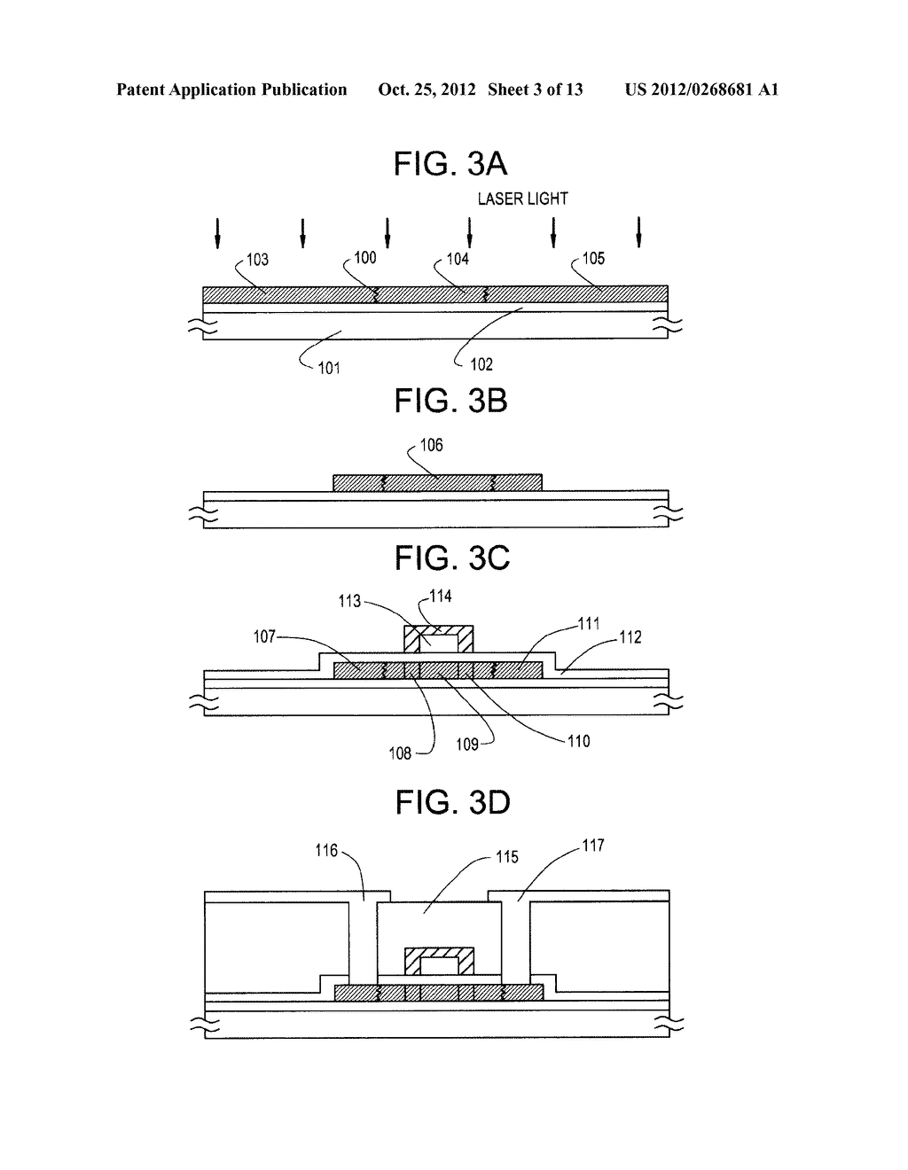 SEMICONDUCTOR CIRCUIT FOR ELECTRO-OPTICAL DEVICE AND METHOD OF     MANUFACTURING THE SAME - diagram, schematic, and image 04