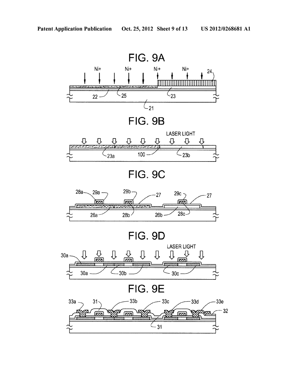 SEMICONDUCTOR CIRCUIT FOR ELECTRO-OPTICAL DEVICE AND METHOD OF     MANUFACTURING THE SAME - diagram, schematic, and image 10