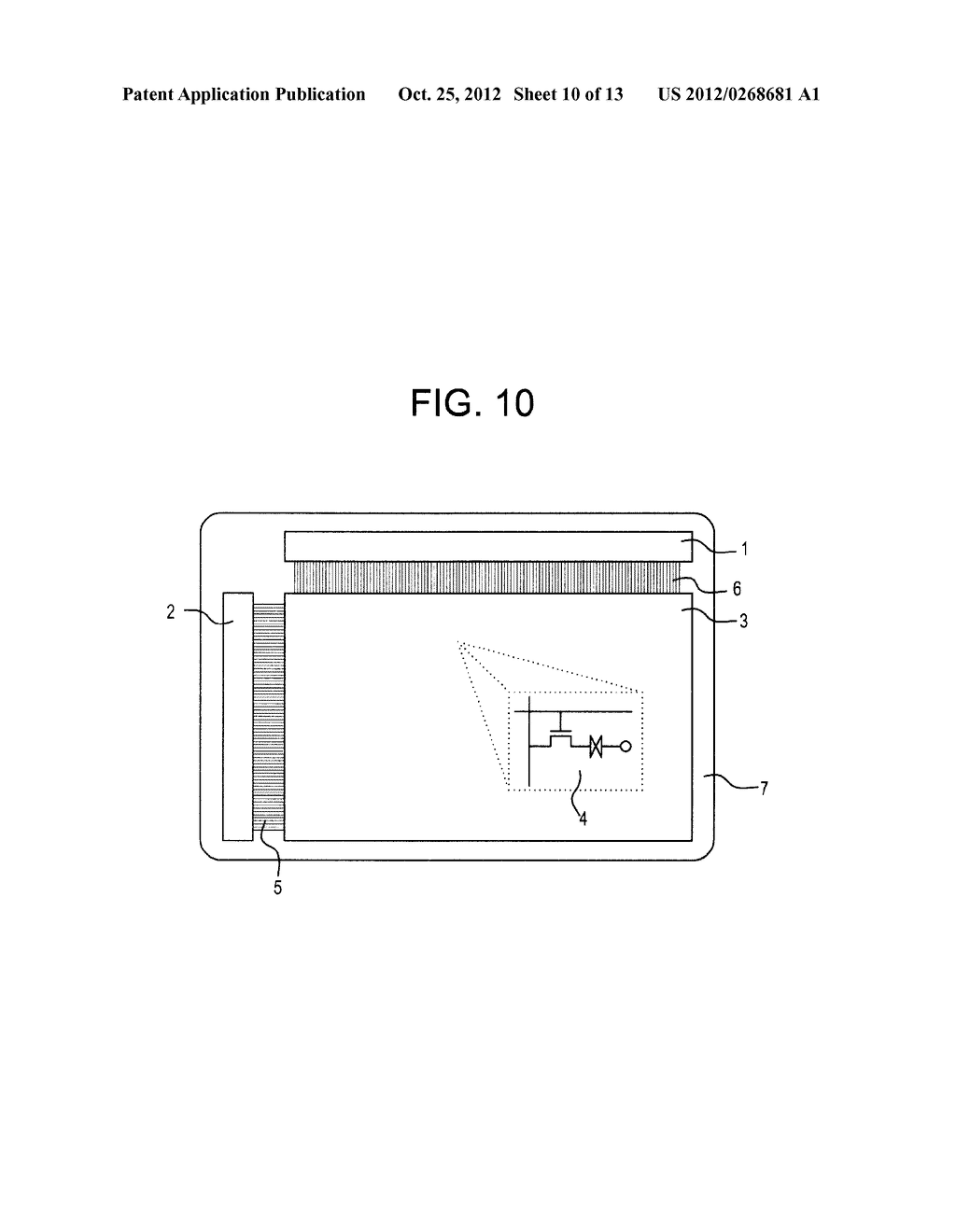 SEMICONDUCTOR CIRCUIT FOR ELECTRO-OPTICAL DEVICE AND METHOD OF     MANUFACTURING THE SAME - diagram, schematic, and image 11