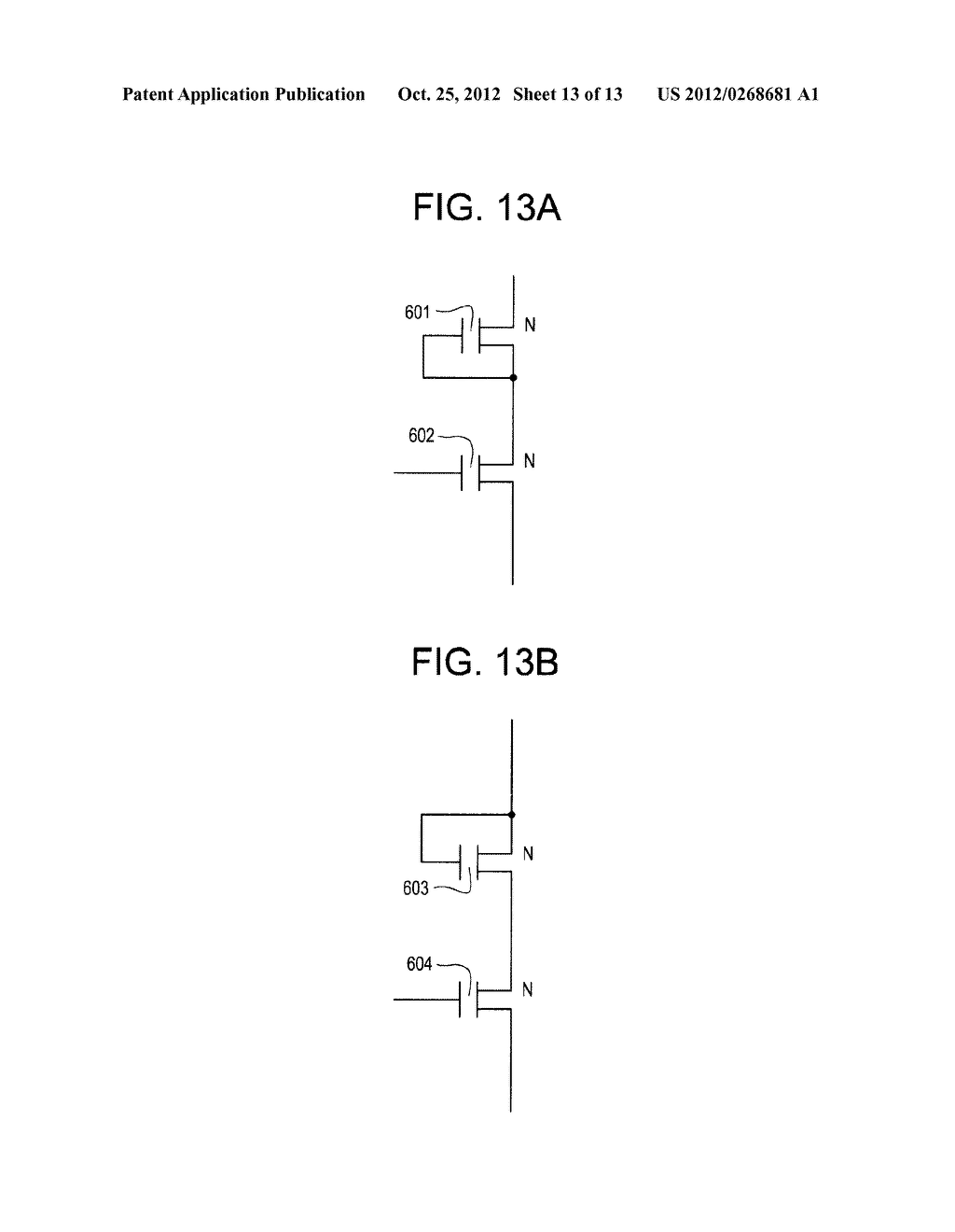 SEMICONDUCTOR CIRCUIT FOR ELECTRO-OPTICAL DEVICE AND METHOD OF     MANUFACTURING THE SAME - diagram, schematic, and image 14