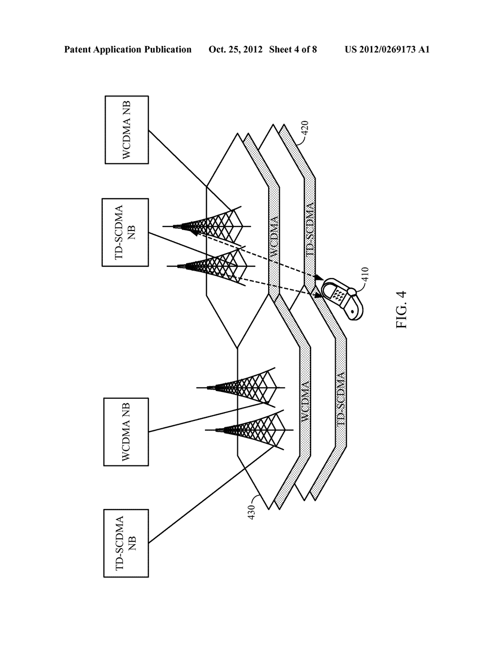 Method and Apparatus for Resolving Paging Monitoring Conflicts in     Multimode Wireless Equipment - diagram, schematic, and image 05
