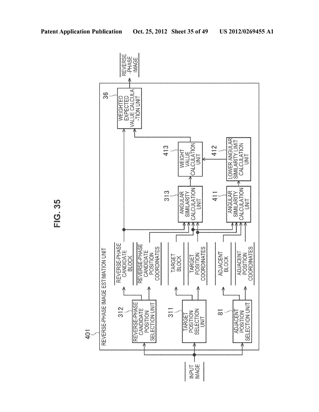 IMAGE PROCESSING APPARATUS AND METHOD, AND PROGRAM - diagram, schematic, and image 36