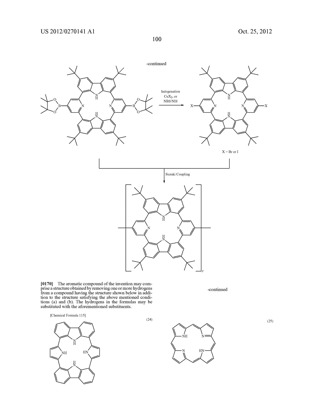 NITROGEN-CONTAINING AROMATIC COMPOUNDS AND METAL COMPLEXES - diagram, schematic, and image 101