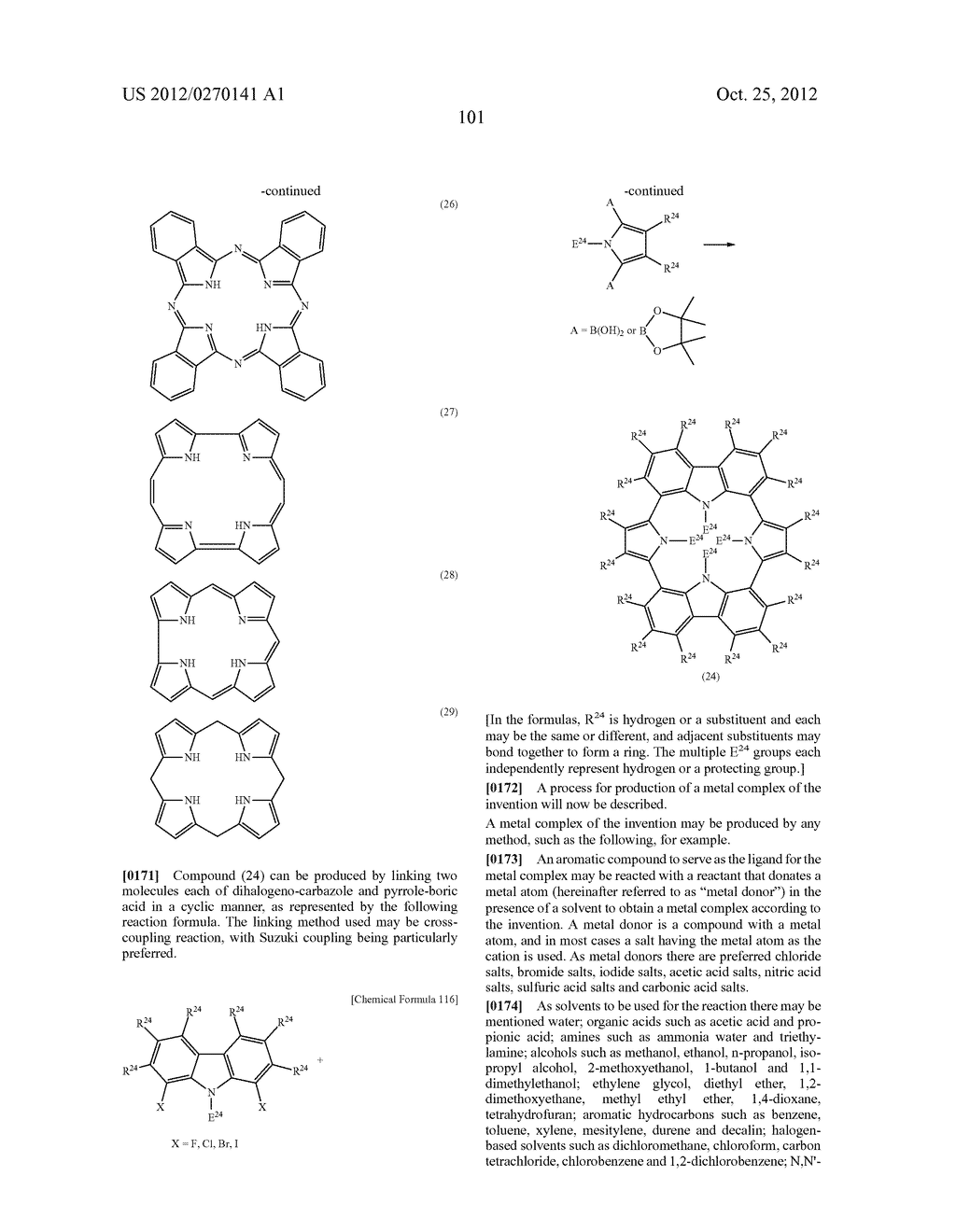 NITROGEN-CONTAINING AROMATIC COMPOUNDS AND METAL COMPLEXES - diagram, schematic, and image 102