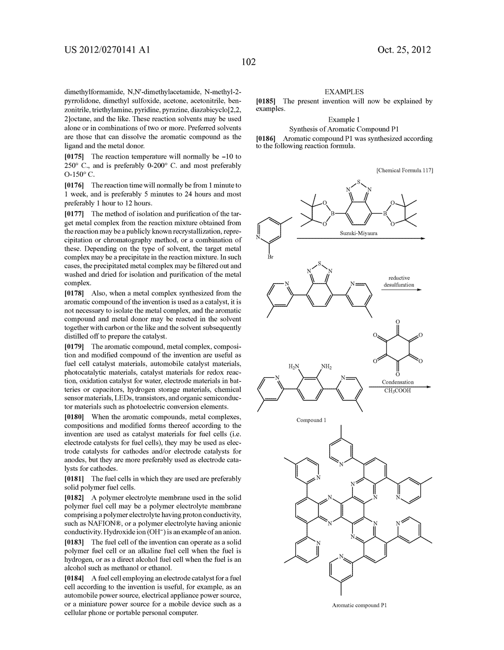 NITROGEN-CONTAINING AROMATIC COMPOUNDS AND METAL COMPLEXES - diagram, schematic, and image 103