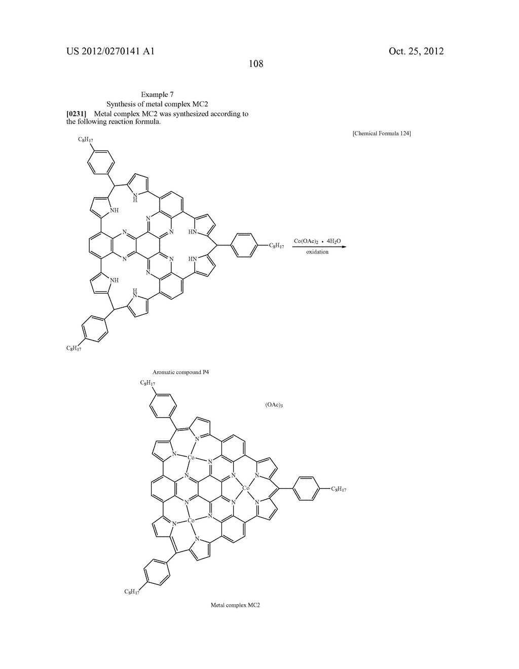 NITROGEN-CONTAINING AROMATIC COMPOUNDS AND METAL COMPLEXES - diagram, schematic, and image 109