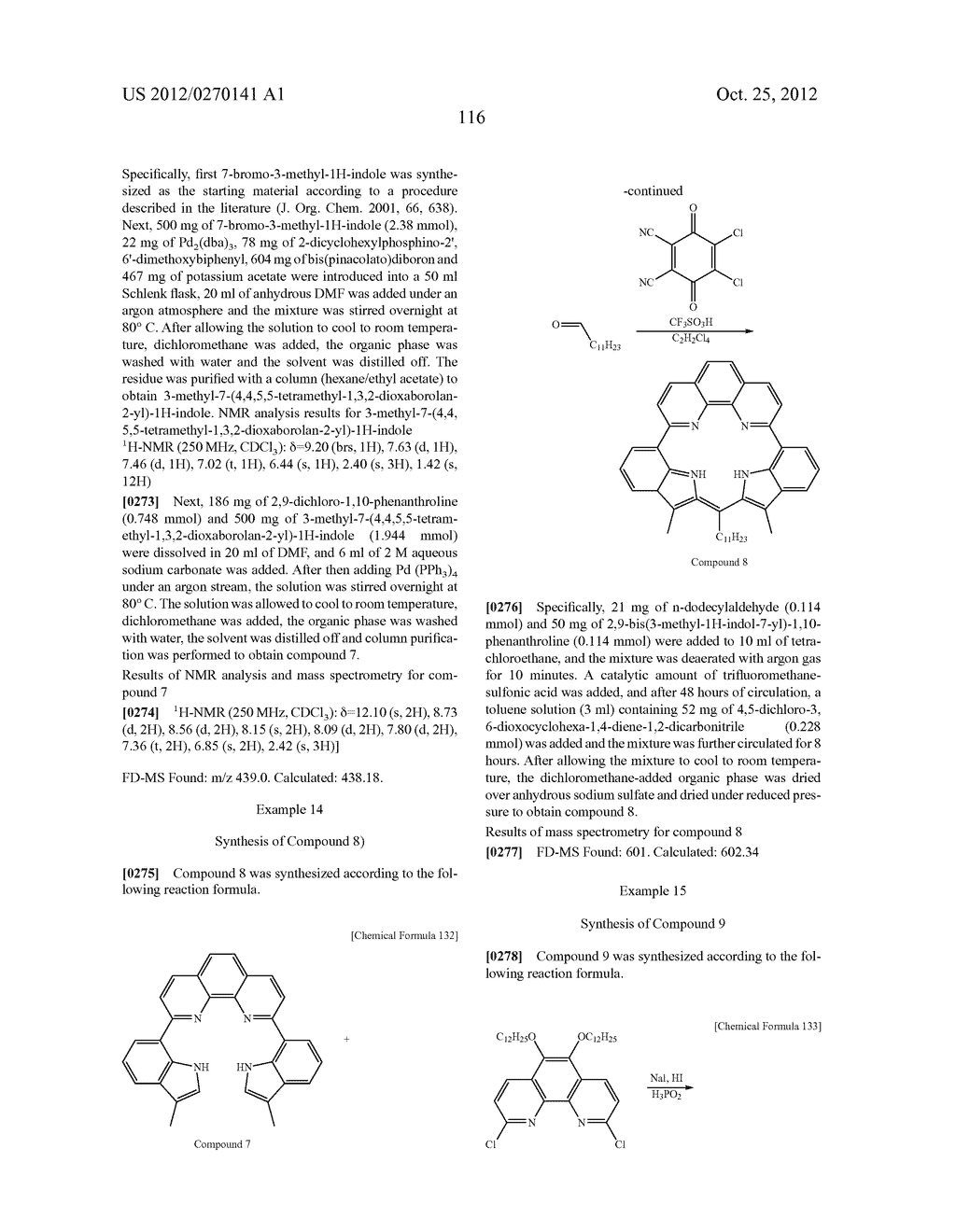 NITROGEN-CONTAINING AROMATIC COMPOUNDS AND METAL COMPLEXES - diagram, schematic, and image 117