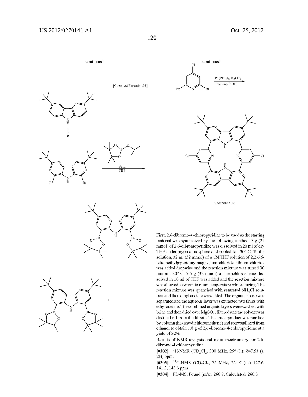 NITROGEN-CONTAINING AROMATIC COMPOUNDS AND METAL COMPLEXES - diagram, schematic, and image 121