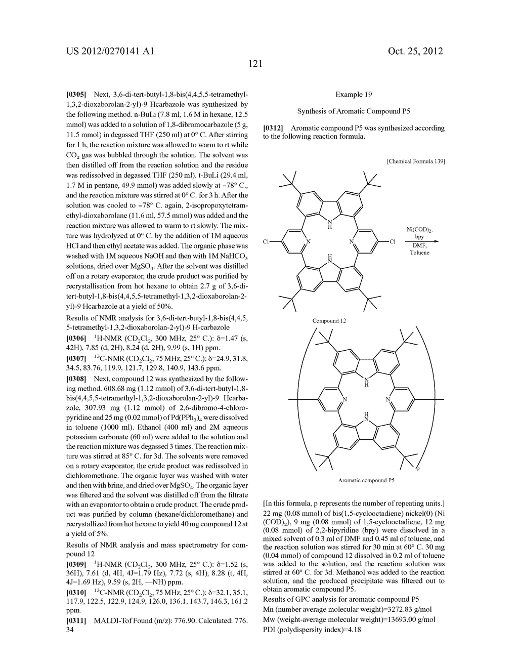 NITROGEN-CONTAINING AROMATIC COMPOUNDS AND METAL COMPLEXES - diagram, schematic, and image 122