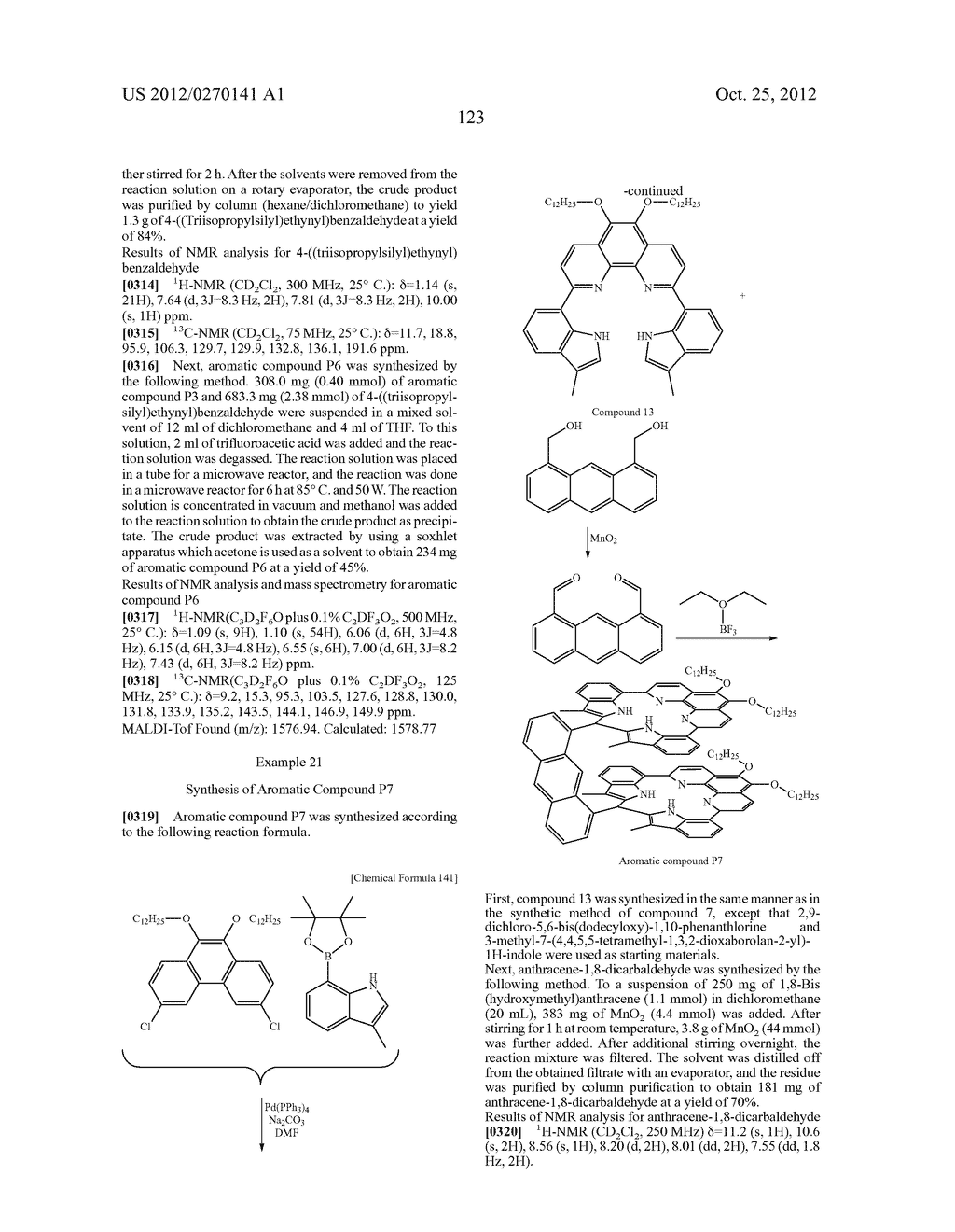 NITROGEN-CONTAINING AROMATIC COMPOUNDS AND METAL COMPLEXES - diagram, schematic, and image 124