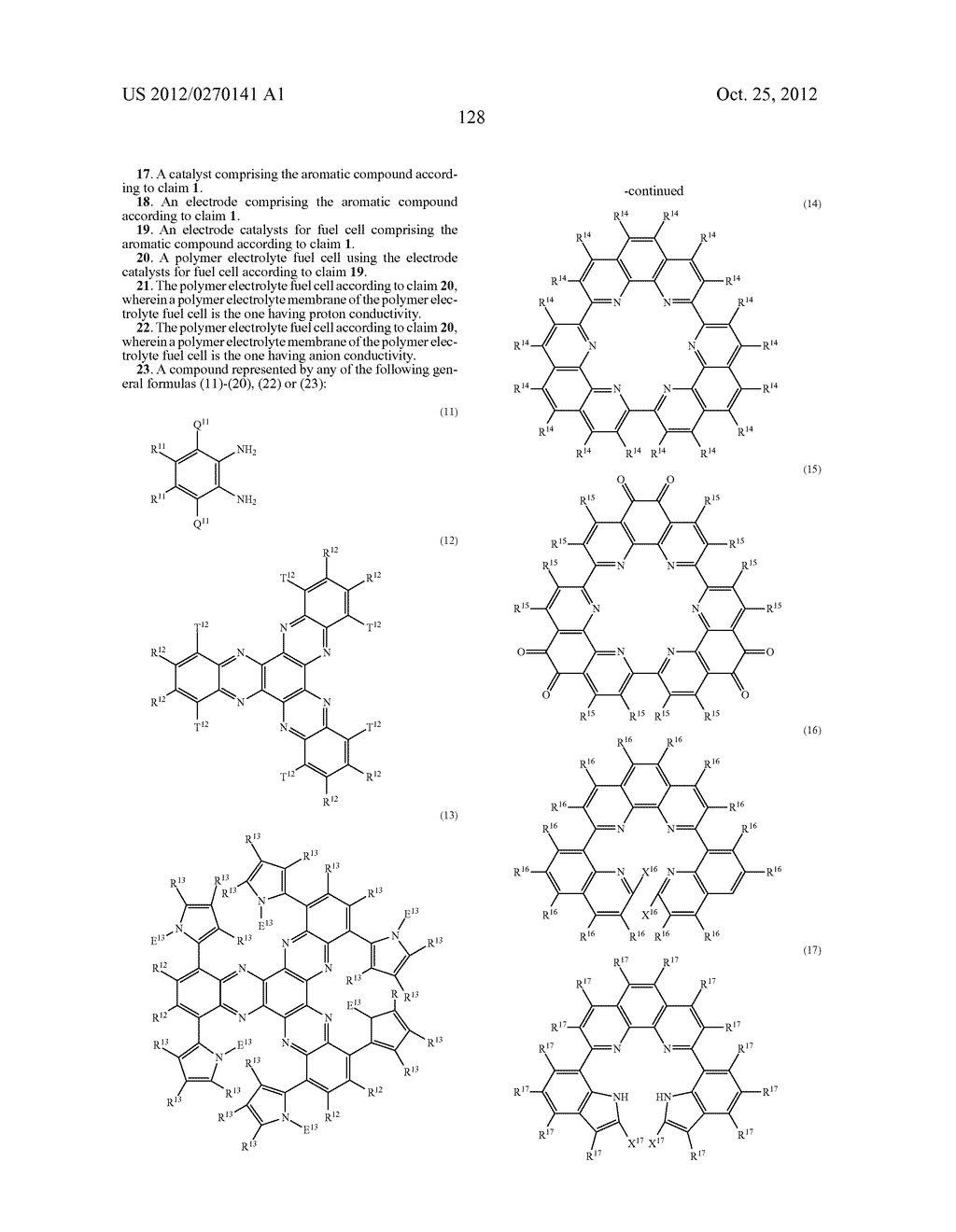 NITROGEN-CONTAINING AROMATIC COMPOUNDS AND METAL COMPLEXES - diagram, schematic, and image 129