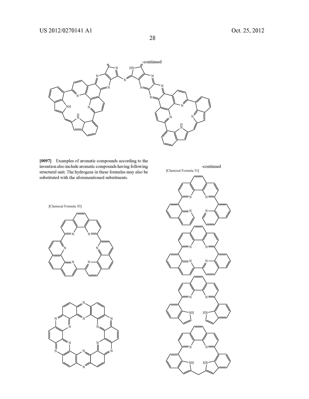 NITROGEN-CONTAINING AROMATIC COMPOUNDS AND METAL COMPLEXES - diagram, schematic, and image 29