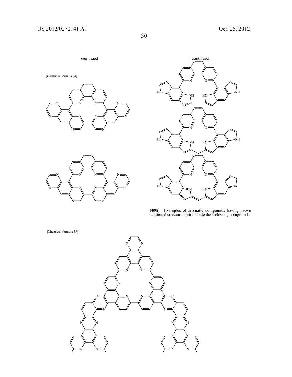 NITROGEN-CONTAINING AROMATIC COMPOUNDS AND METAL COMPLEXES - diagram, schematic, and image 31