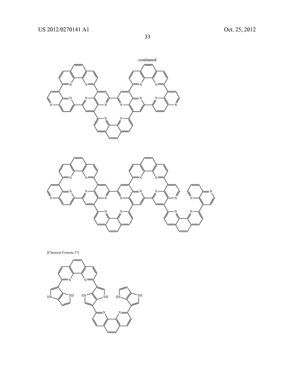 NITROGEN-CONTAINING AROMATIC COMPOUNDS AND METAL COMPLEXES - diagram, schematic, and image 34