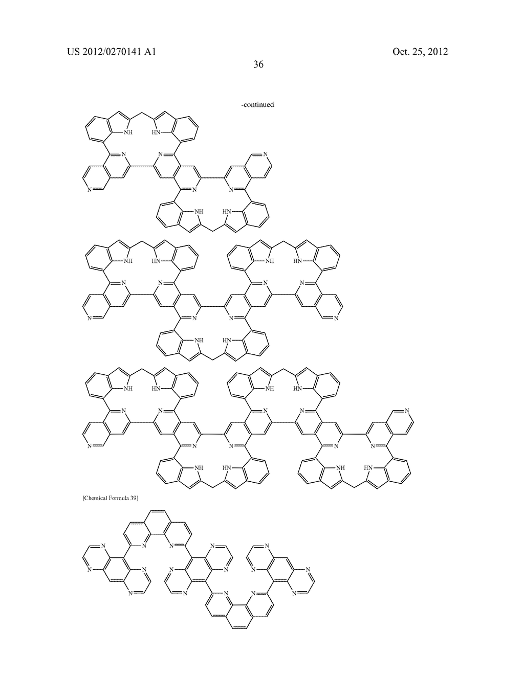 NITROGEN-CONTAINING AROMATIC COMPOUNDS AND METAL COMPLEXES - diagram, schematic, and image 37