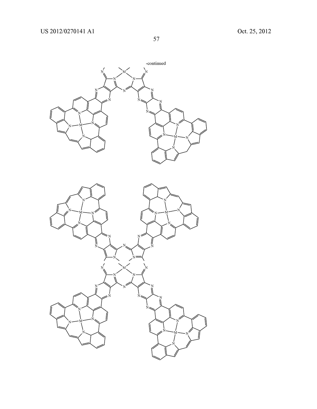 NITROGEN-CONTAINING AROMATIC COMPOUNDS AND METAL COMPLEXES - diagram, schematic, and image 58