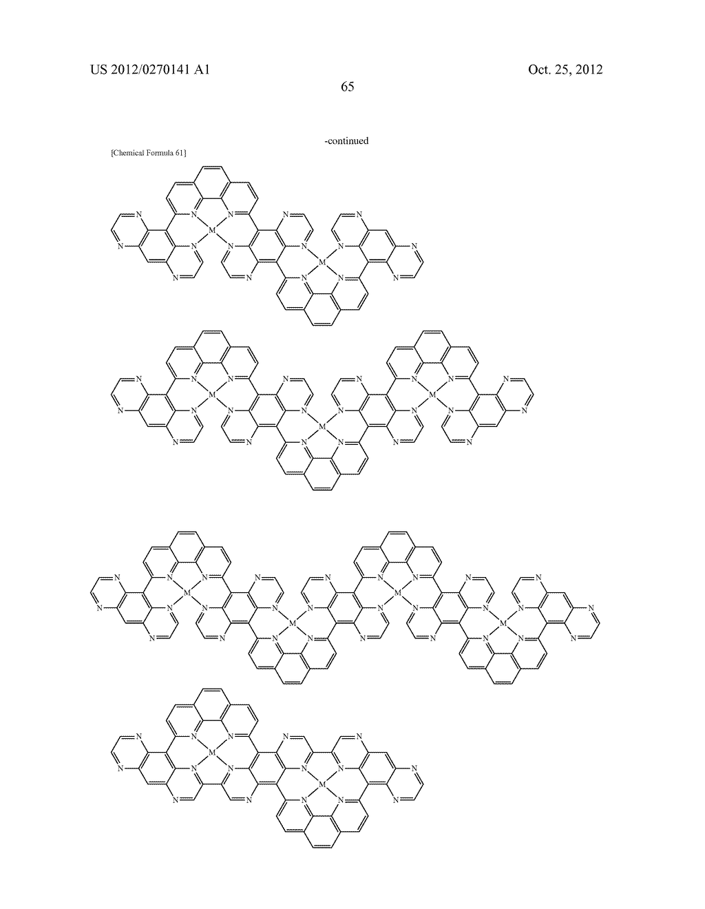 NITROGEN-CONTAINING AROMATIC COMPOUNDS AND METAL COMPLEXES - diagram, schematic, and image 66