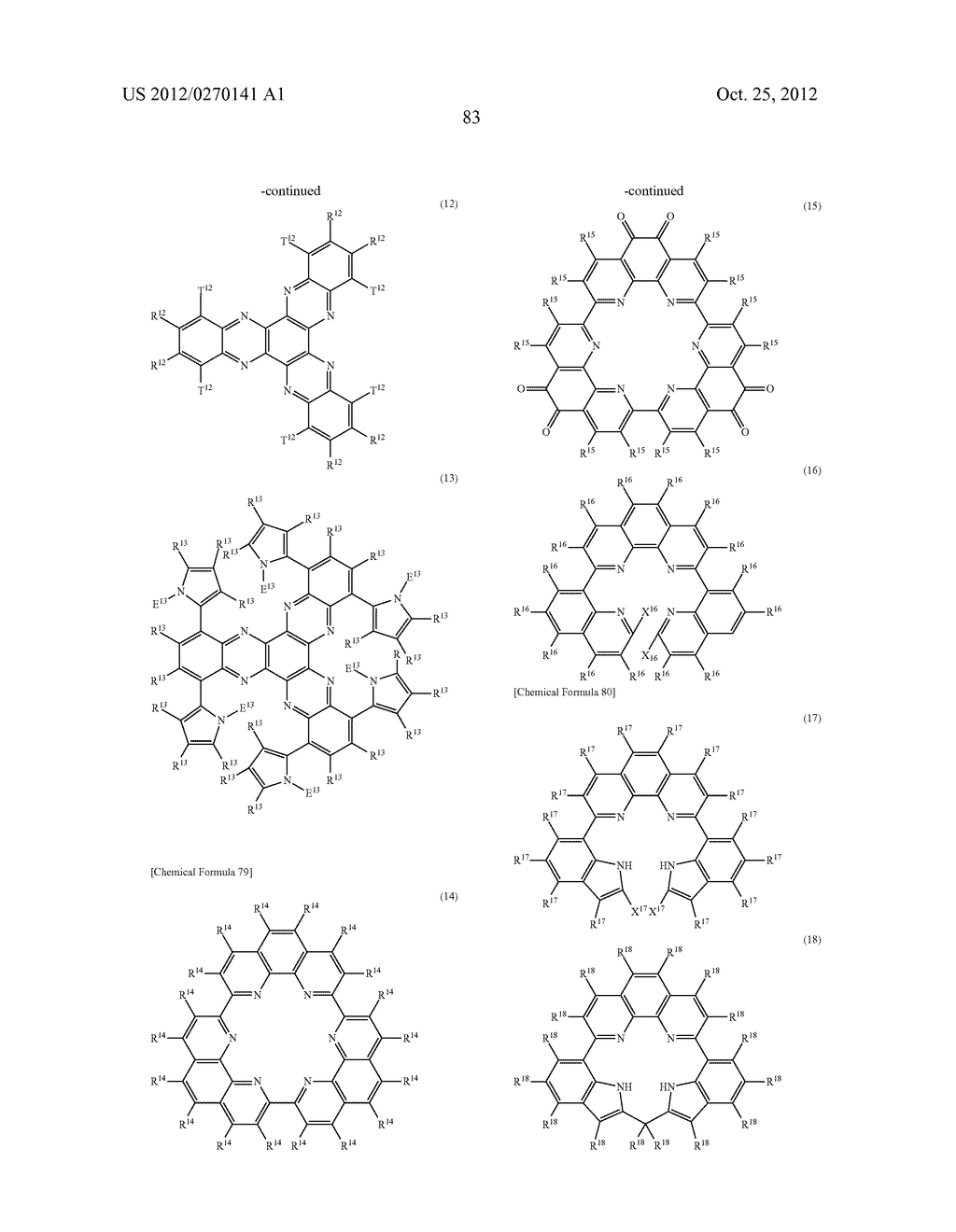NITROGEN-CONTAINING AROMATIC COMPOUNDS AND METAL COMPLEXES - diagram, schematic, and image 84