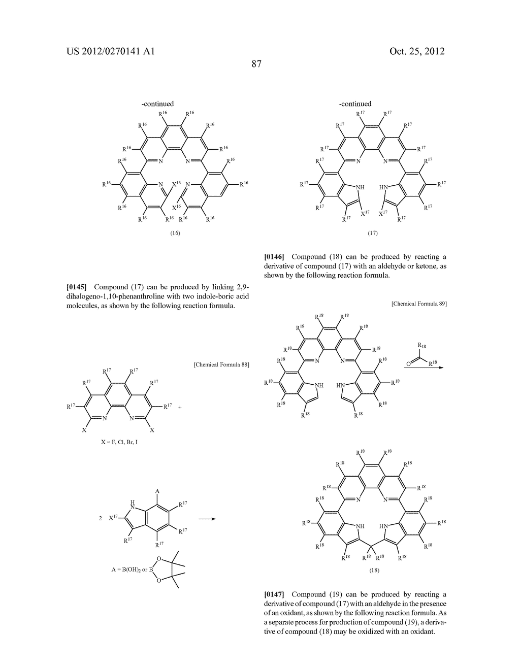 NITROGEN-CONTAINING AROMATIC COMPOUNDS AND METAL COMPLEXES - diagram, schematic, and image 88