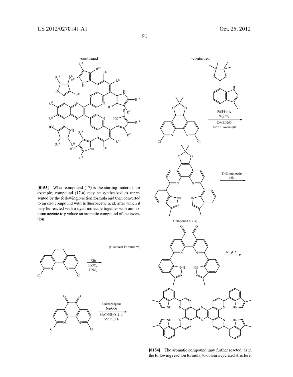 NITROGEN-CONTAINING AROMATIC COMPOUNDS AND METAL COMPLEXES - diagram, schematic, and image 92