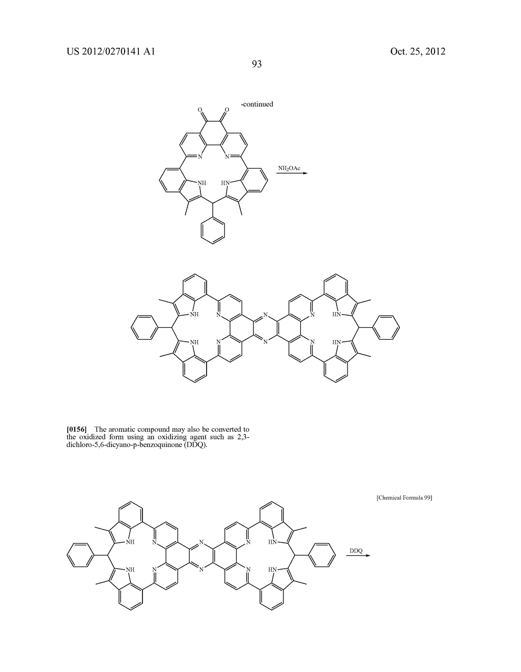 NITROGEN-CONTAINING AROMATIC COMPOUNDS AND METAL COMPLEXES - diagram, schematic, and image 94