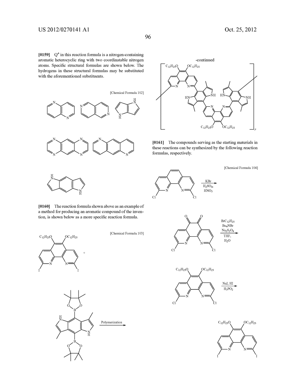 NITROGEN-CONTAINING AROMATIC COMPOUNDS AND METAL COMPLEXES - diagram, schematic, and image 97