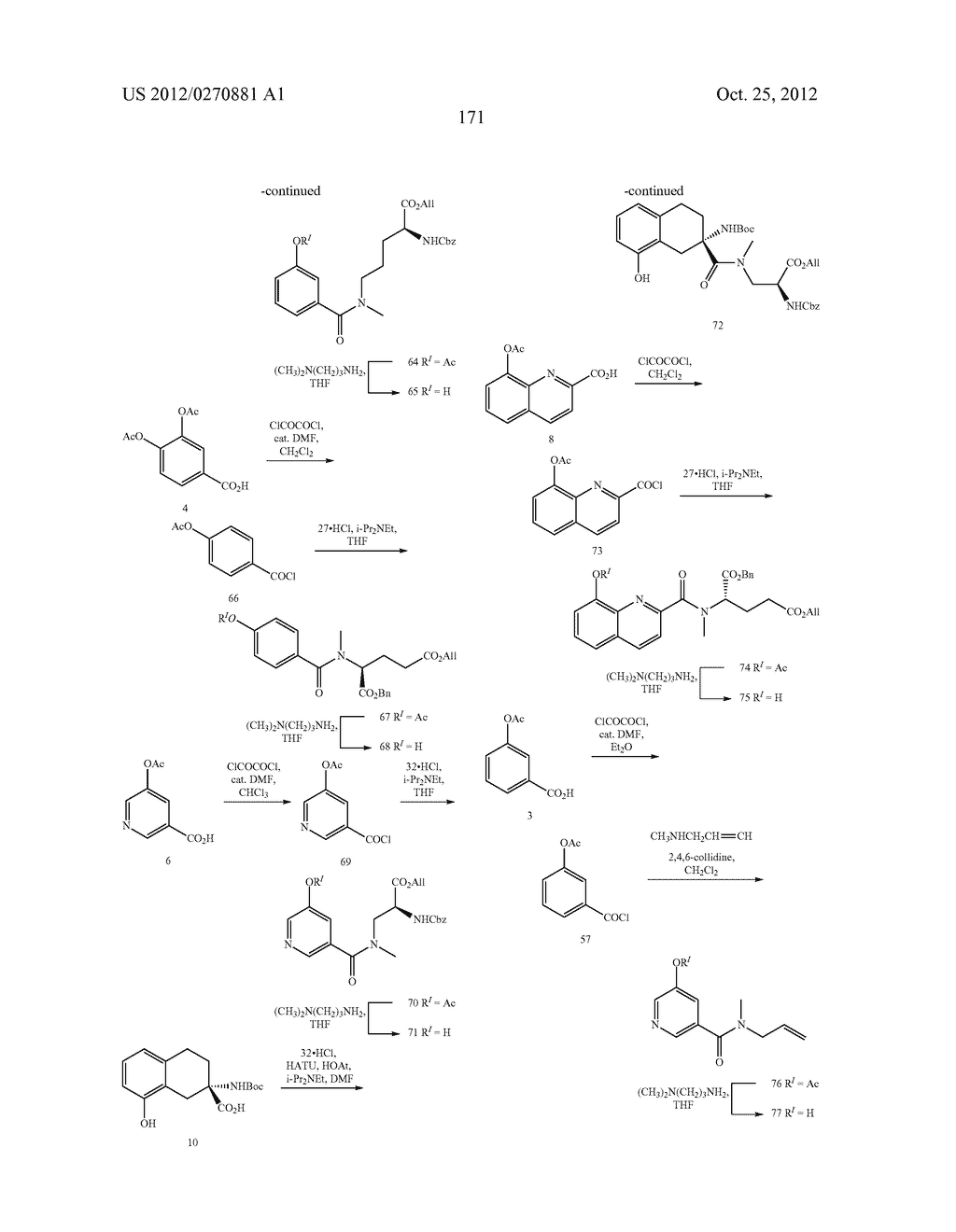 CONFORMATIONALLY CONSTRAINED, FULLY SYNTHETIC MACROCYCLIC COMPOUNDS - diagram, schematic, and image 174